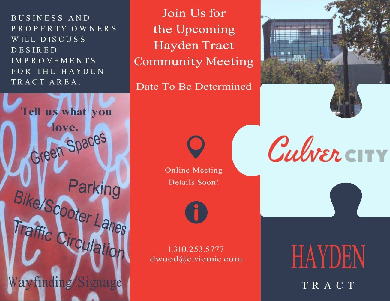 Hayden Tract Meeting TBD