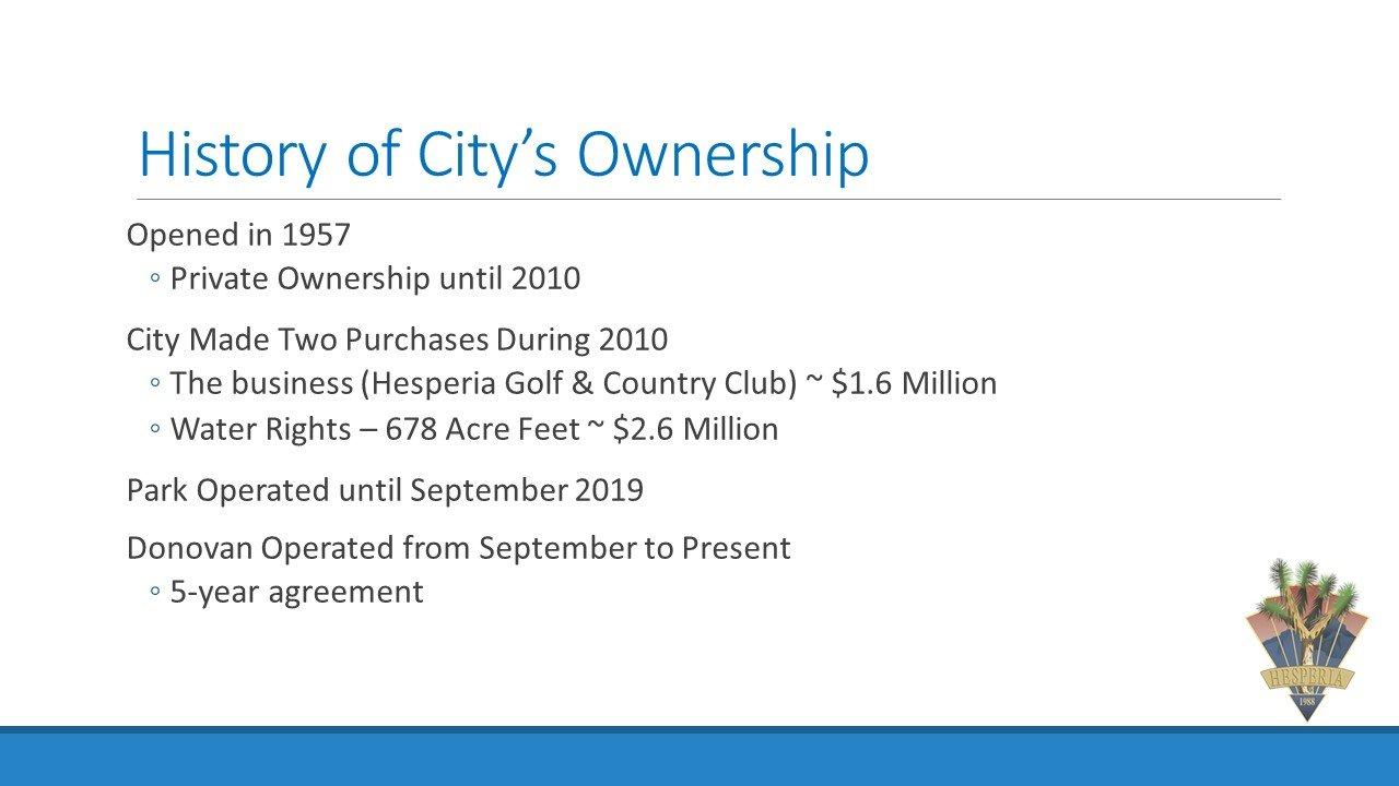 Hesperia Second Meeting City Slide 2