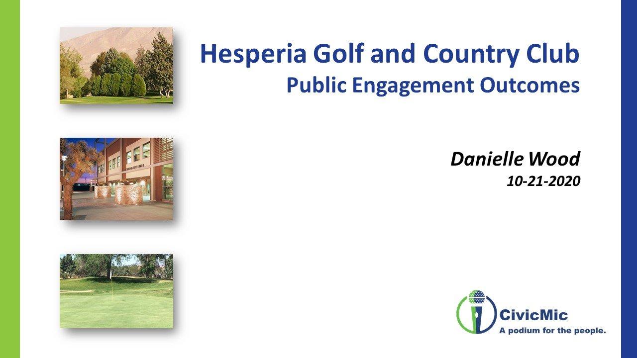 Hesperia Second Meeting CivicMic Slide 1
