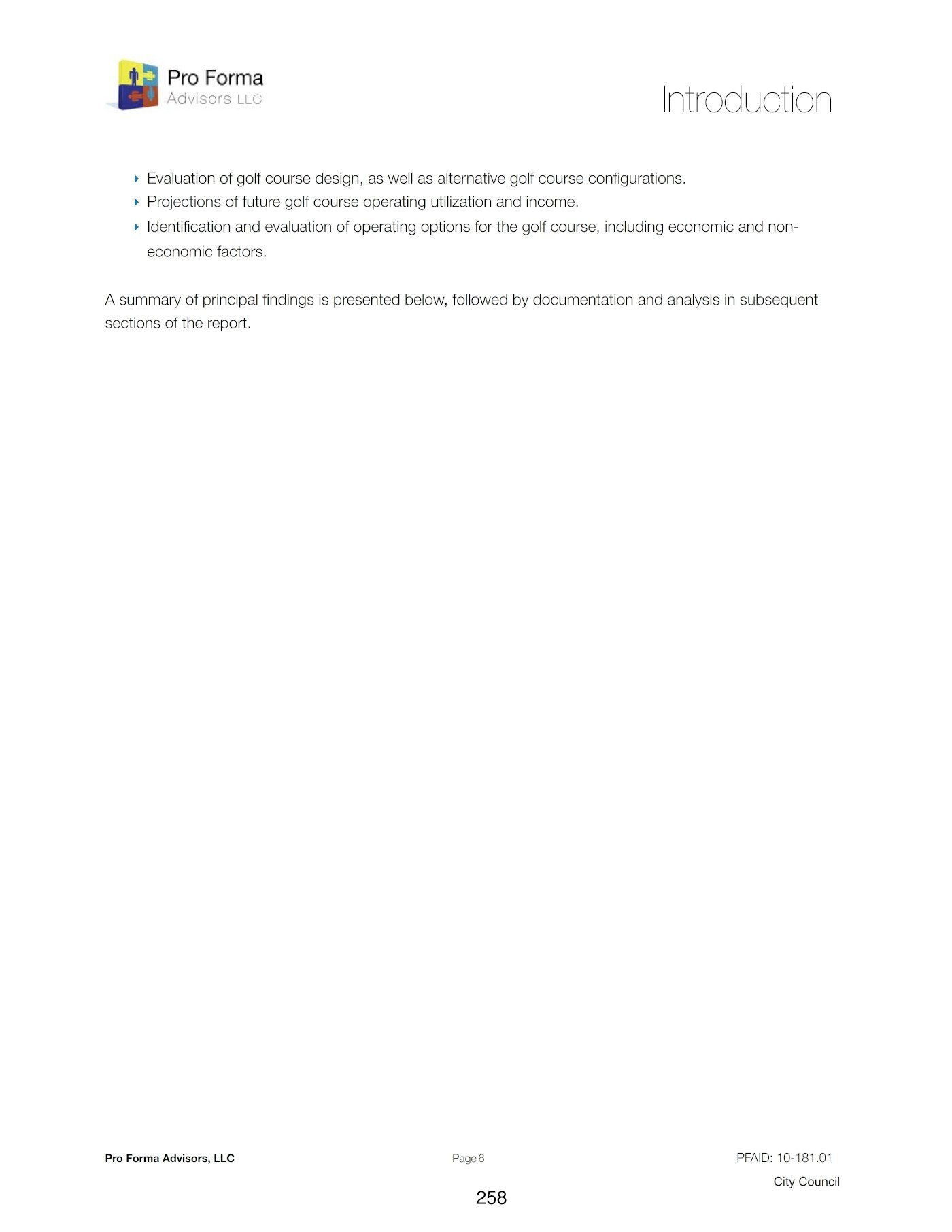 Hesperia Golf Analysis - Introduction 2 of 2