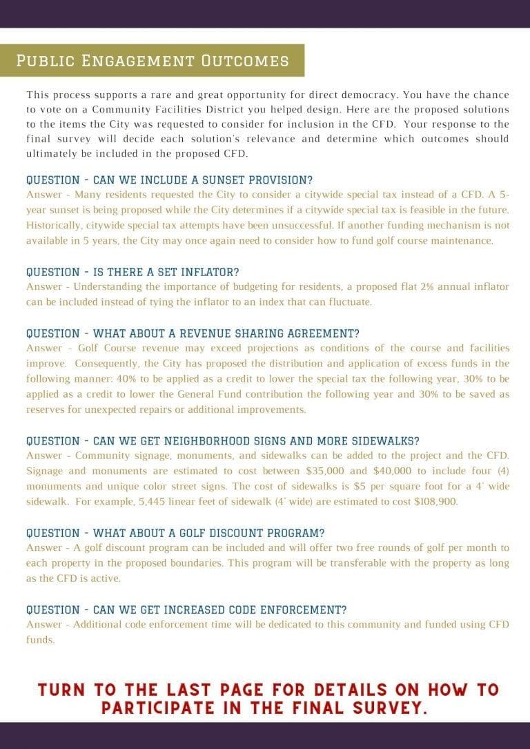 Hesperia Golf CFD Public Engagement 3