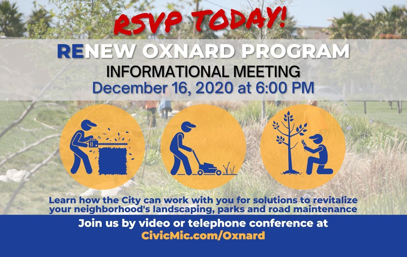 ReNew Oxnard Introduction Meeting Flyer 2 of 2