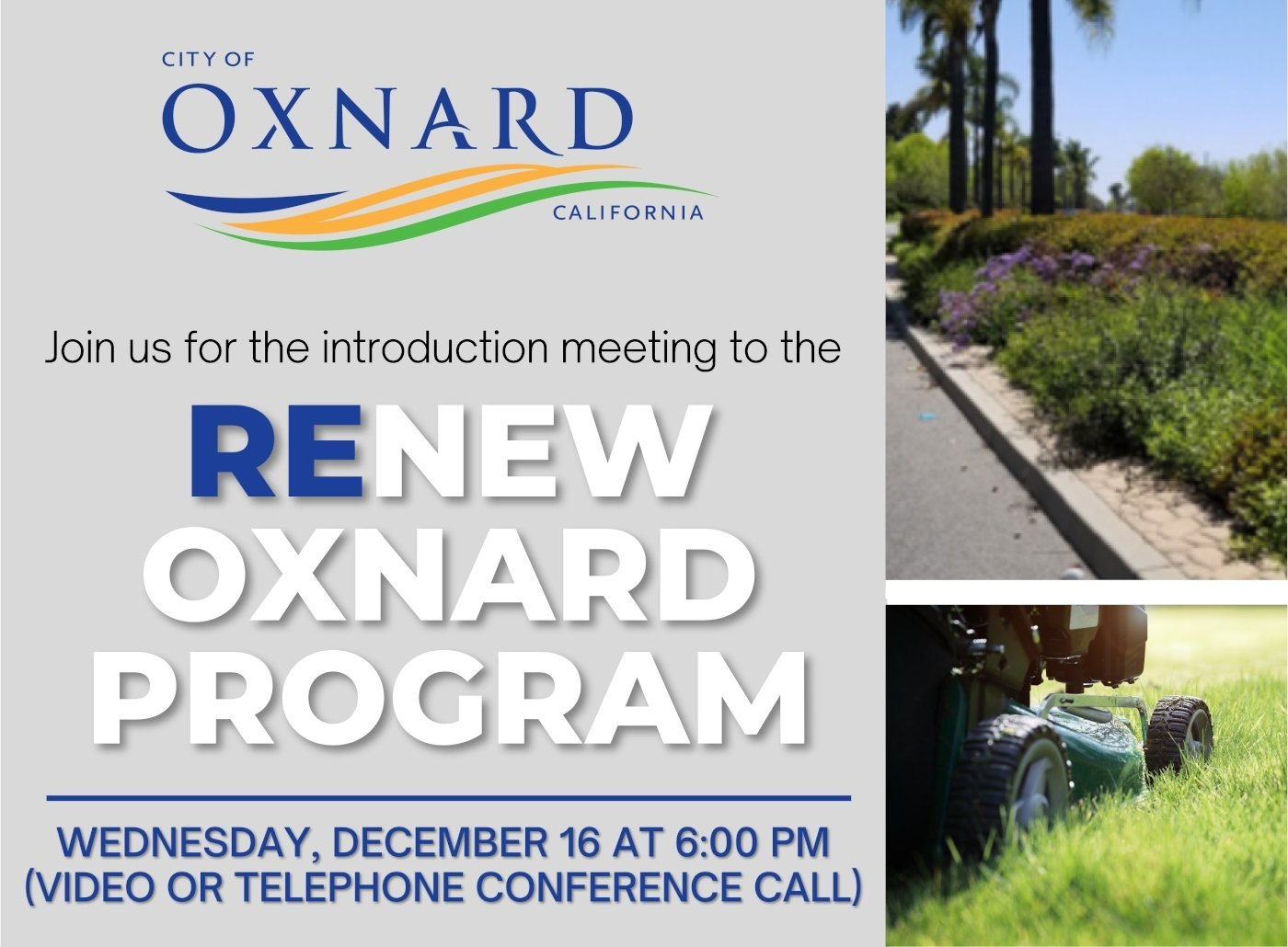 How to Join the ReNew Oxnard Meeting