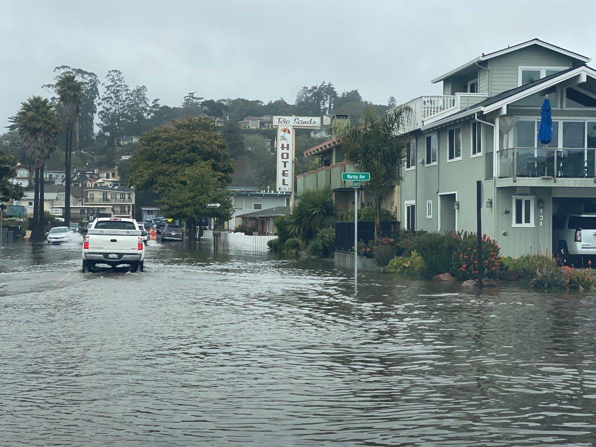 Rio Del Mar Flats Flood 1-28-2021 B