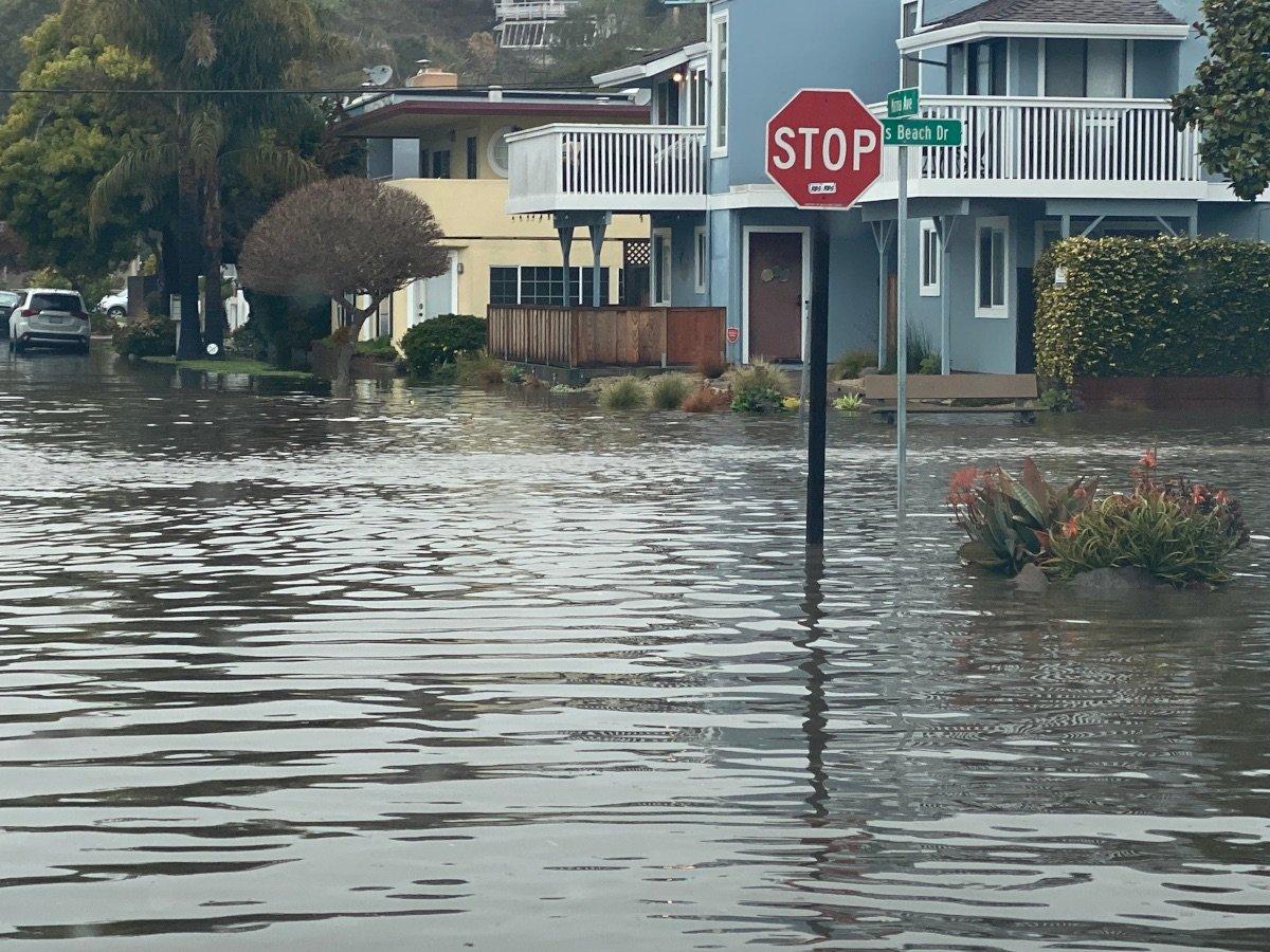Rio Del Mar Flats Flood 1-28-2021 C