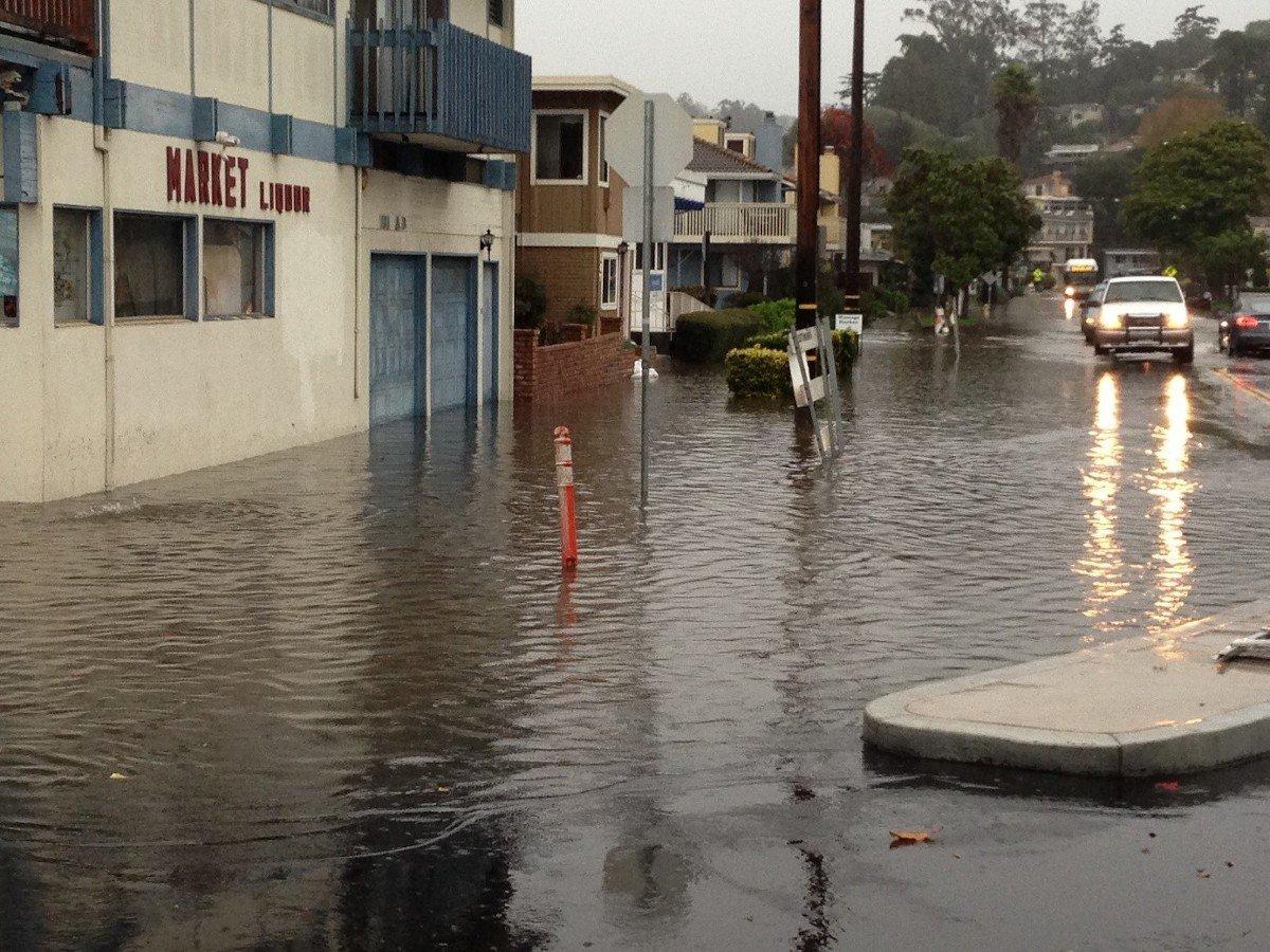 Rio Del Mar Flats Flood 12-11-2014