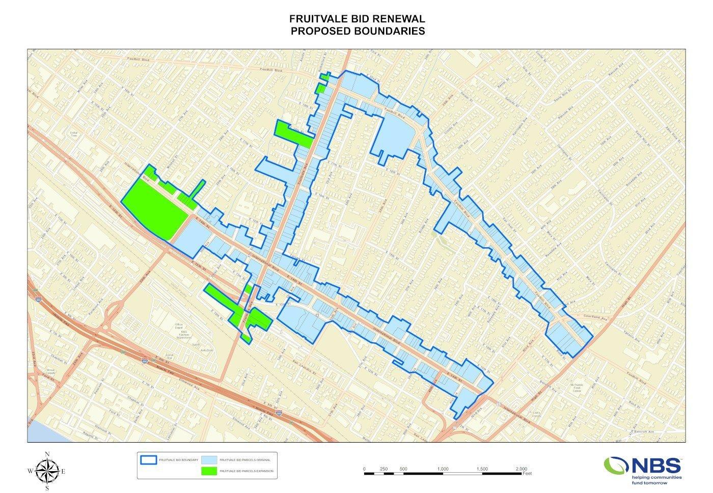 Fruitvale BID Proposed Boundary 3-18-2021