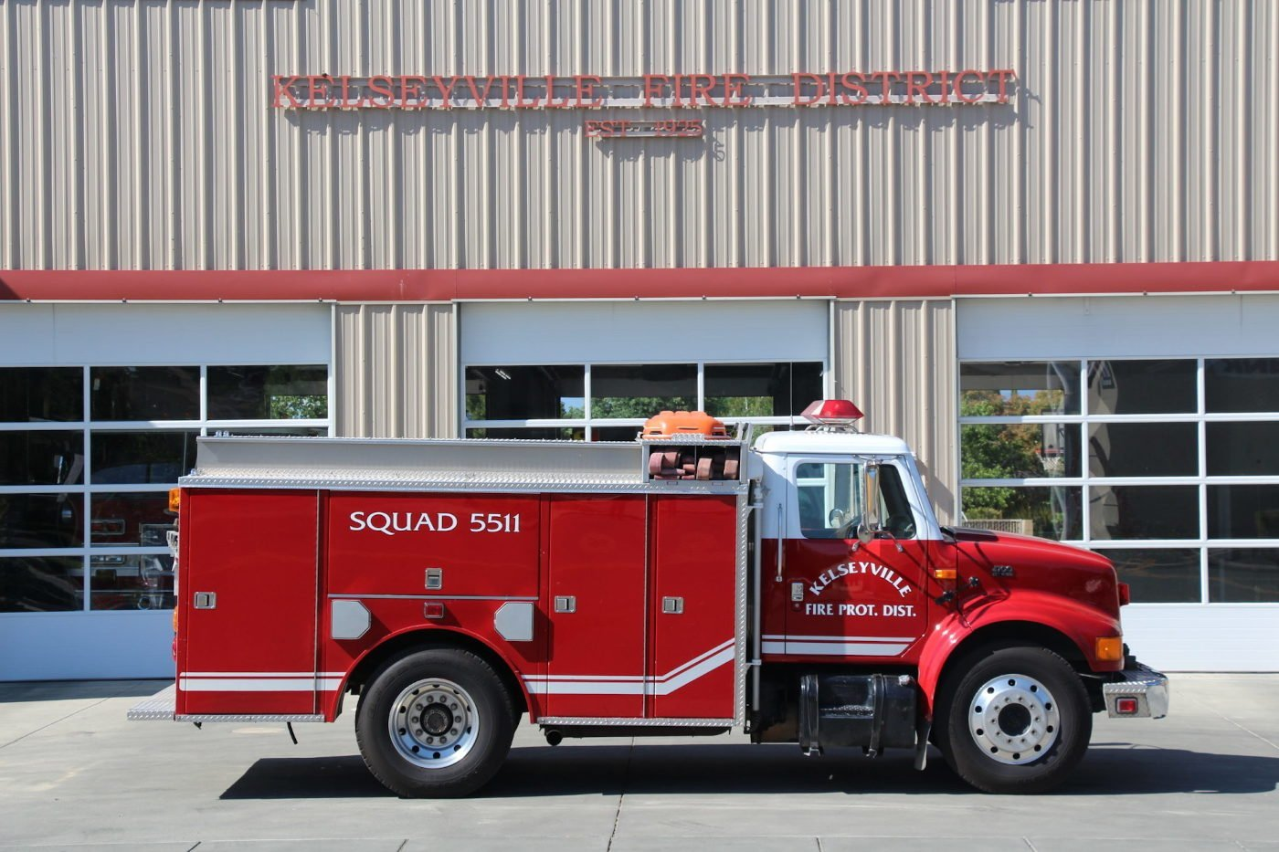 Kelseyville Fire Protection District Data E5511