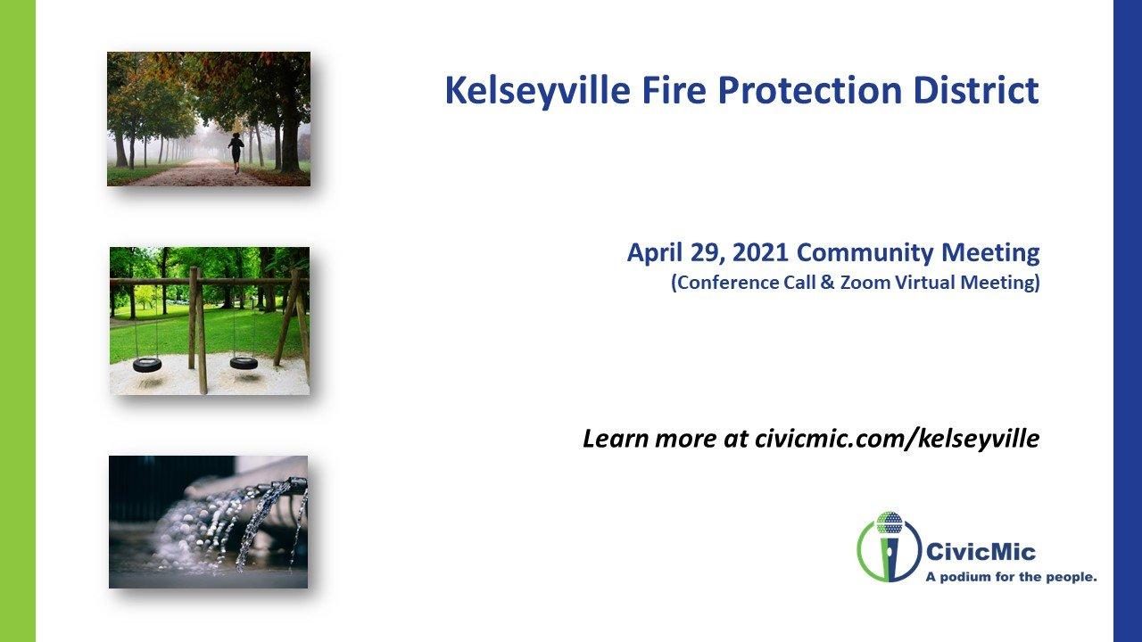 Kelseyville FPD meeting