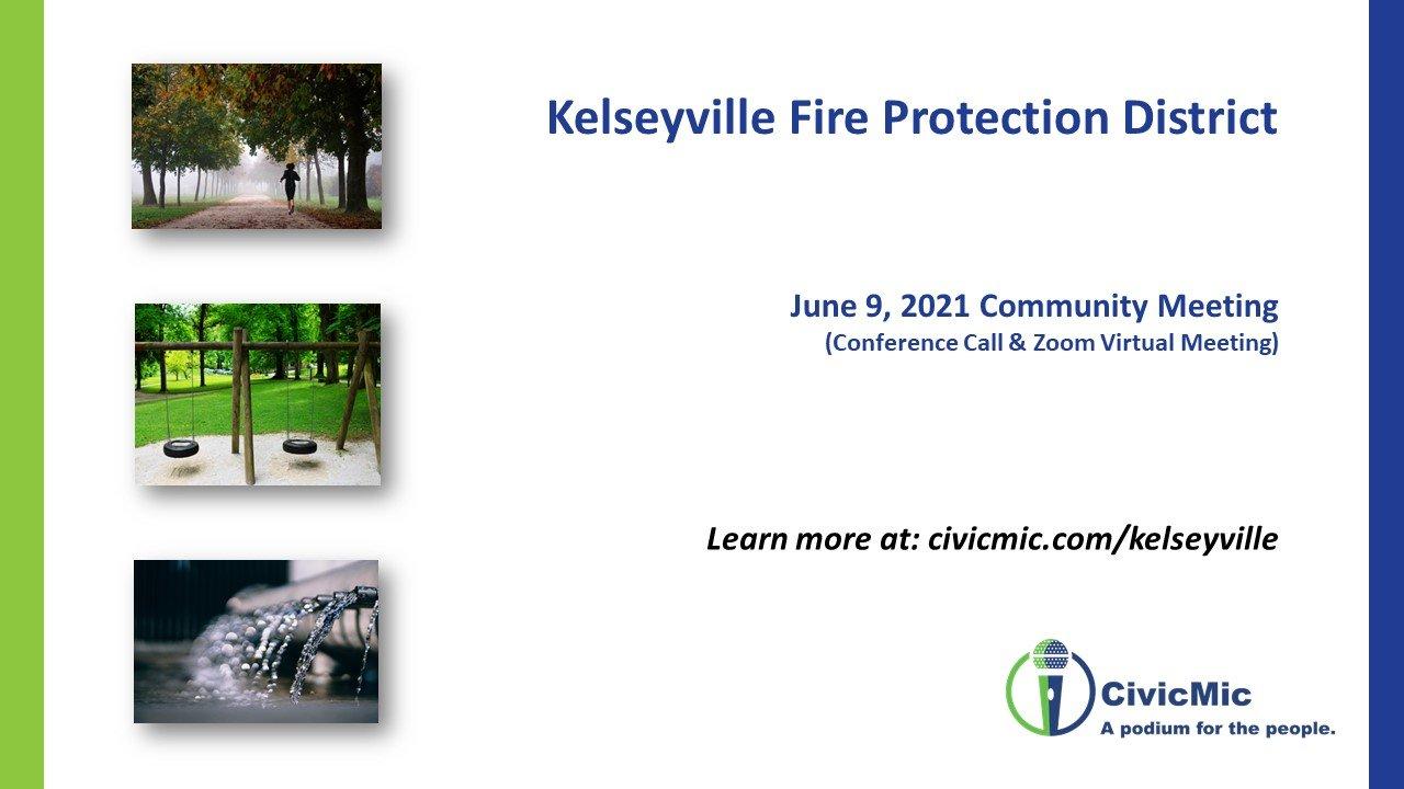 Second Kelseyville FPD meeting slides